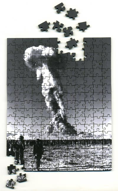 foster, you're dead puzzle by rirkrit tiravanija