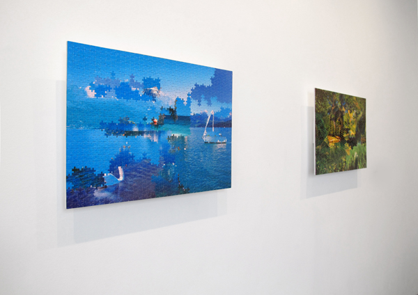 ANDREA CANEPA – BLUE PIECE(S) & GREEN PIECE(S)