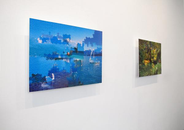 ANDREA CANEPA – BLUE PIECE(S) & GREEN PIECE(S)