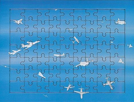 Alighiero Boetti – Jigsaw