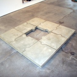 Untitled, 2011 Concrete jigsaw Edition Edition 2 + 1 AP