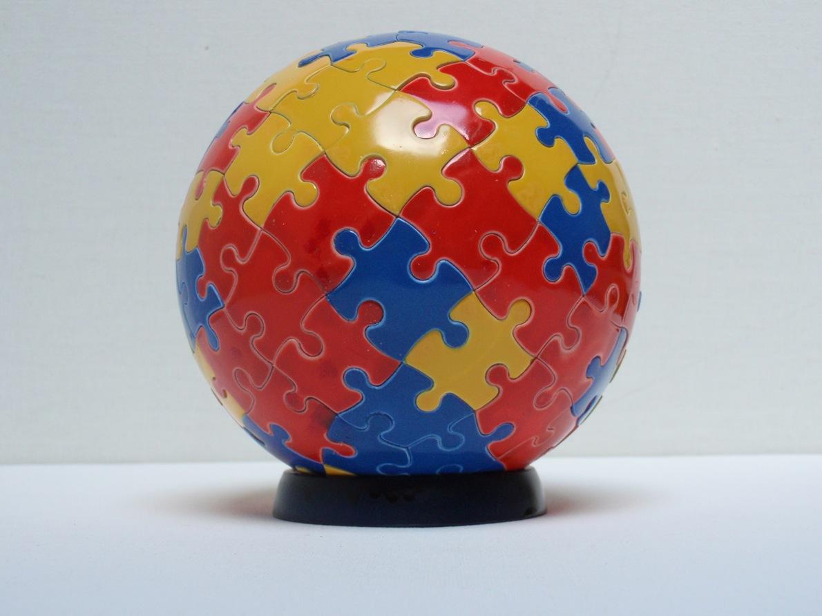 Eric Rutten Puzzle Zen boule